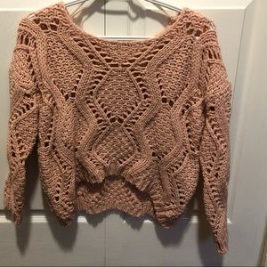 Sweaters - Crop chunky knit